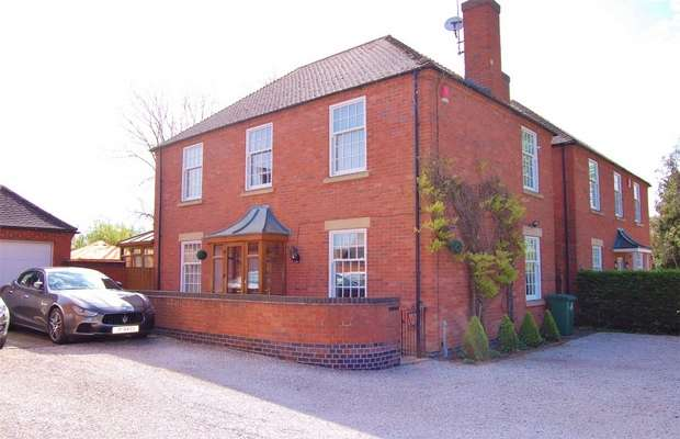 4 Bedrooms Detached House for sale in Meadow View, Main Street, Bourton, RUGBY, Warwickshire