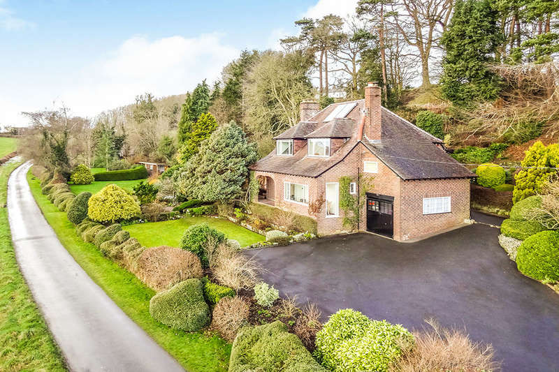 4 Bedrooms Detached House for sale in Sweeney, Oswestry, SY10