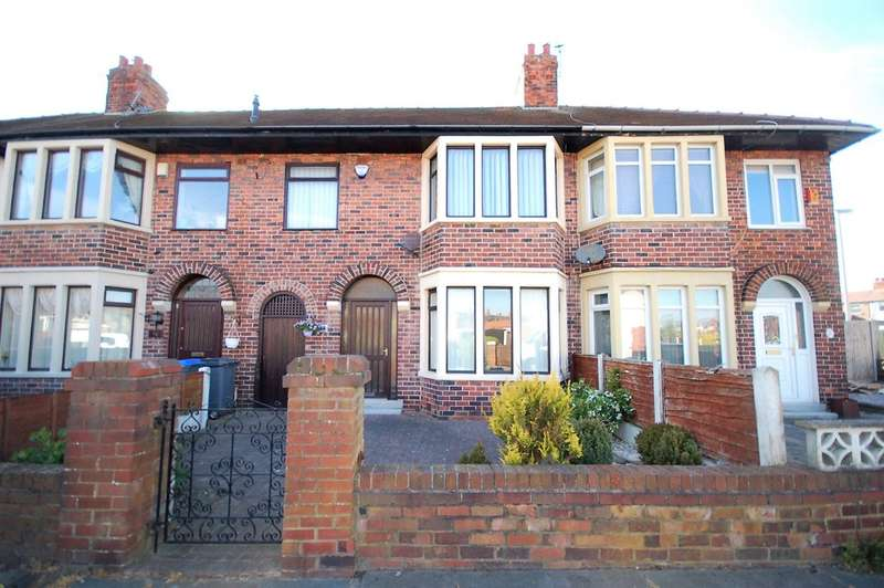 3 Bedrooms Terraced House for sale in Towneley Avenue, Blackpool