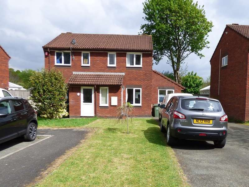 2 Bedrooms Semi Detached House for sale in Peacock Close, Plympton