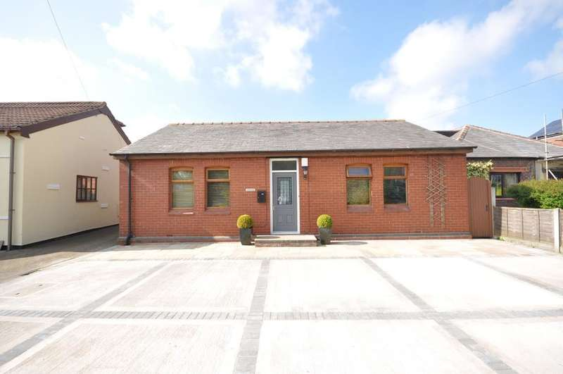 4 Bedrooms Detached Bungalow for sale in Weeton Road, Wesham, Preston, Lancashire, PR4 3DH