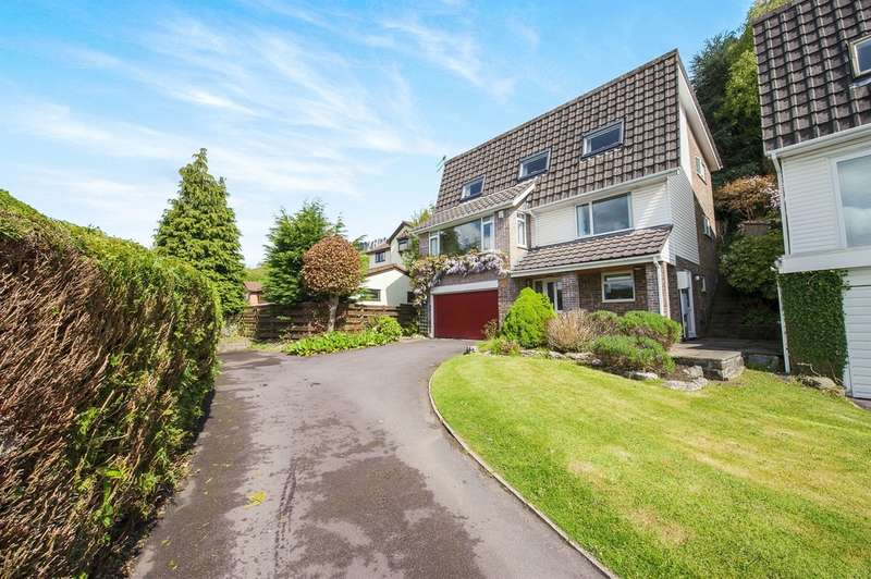 4 Bedrooms Detached House for sale in Royal Oak Close, Machen, Caerphilly