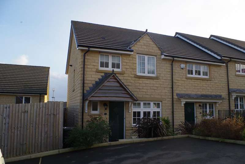 3 Bedrooms Town House for sale in Manger Gardens, Halifax HX2