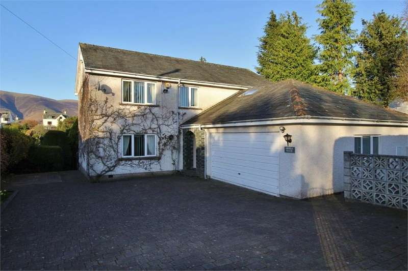 3 Bedrooms Detached House for sale in Arnside House, Portinscale, Keswick, Cumbria