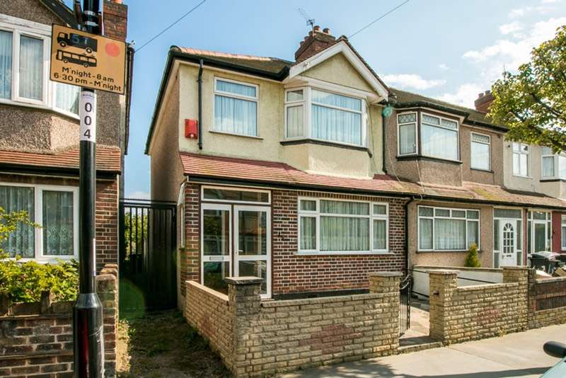 3 Bedrooms End Of Terrace House for sale in Kynaston Avenue, Thornton Heath, Surrey, CR7
