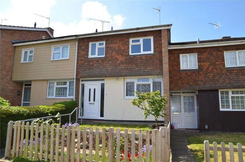 3 Bedrooms Terraced House for sale in Eskin Close, Tilehurst, Reading, Berkshire, RG30