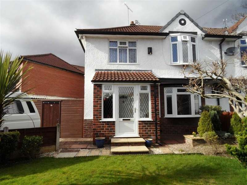 3 Bedrooms Semi Detached House for sale in Dryden Avenue, Cheadle, Stockport