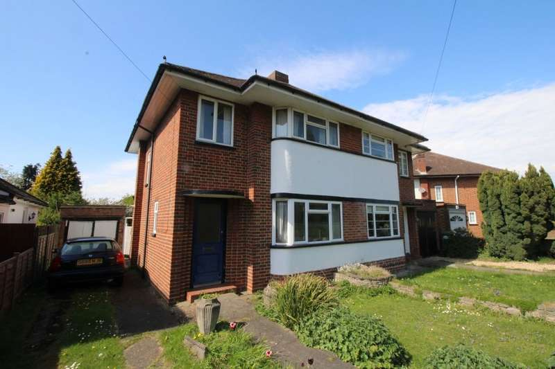 3 Bedrooms Semi Detached House for sale in Gaston Bridge Road, Shepperton, TW17