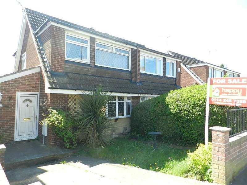 3 Bedrooms Semi Detached House for sale in Bowland Drive, Chapeltown, SHEFFIELD, South Yorkshire