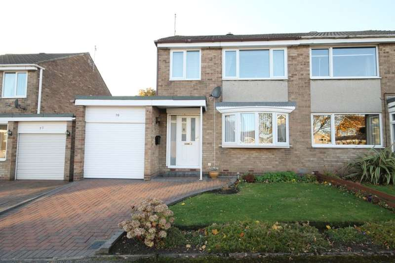 3 Bedrooms Semi Detached House for sale in Burnhope Road, Washington, NE38