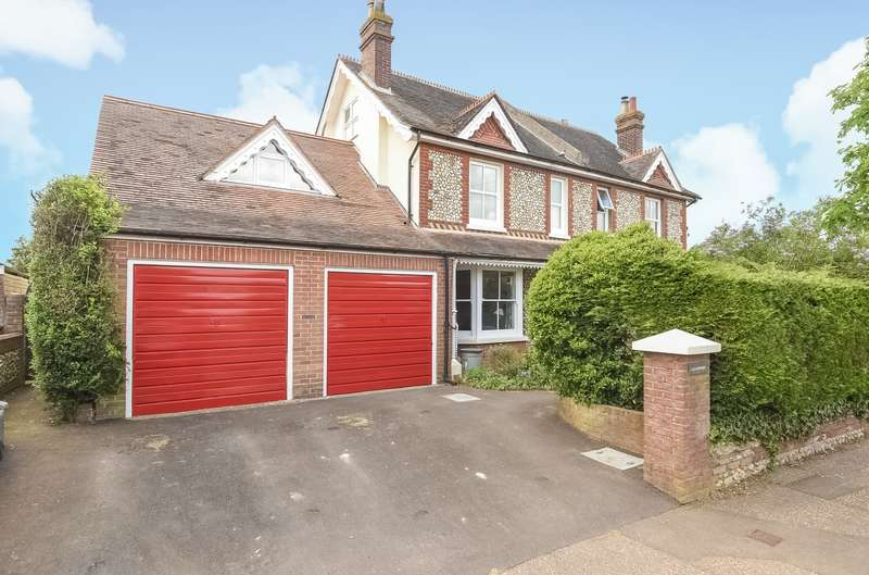 5 Bedrooms Semi Detached House for sale in Summersdale Road, Chichester, PO19