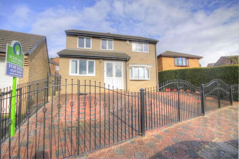 4 Bedrooms Detached House for sale in Chepstow Close, Shotley Bridge, Consett, DH8