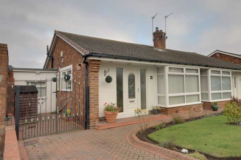 2 Bedrooms Semi Detached Bungalow for sale in Westgarth, Westerhope, Newcastle Upon Tyne, NE5
