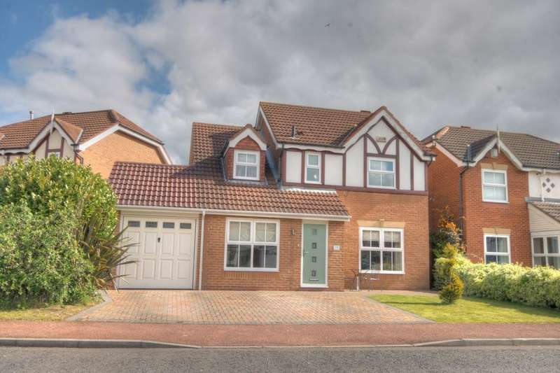 4 Bedrooms Detached House for sale in Thirlington Close, Windsor Gardens, Newcastle Upon Tyne, NE5