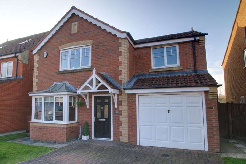4 Bedrooms Detached House for sale in Weymouth Drive, Biddick Woods, Houghton Le Spring, DH4