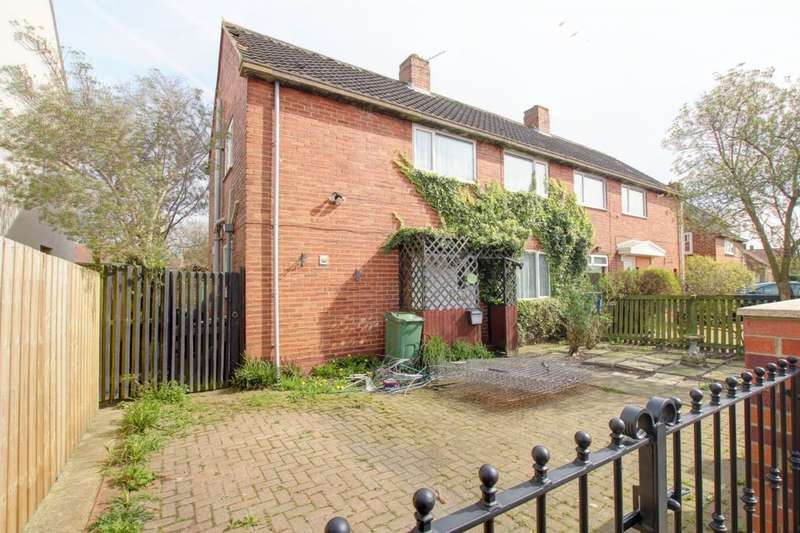 3 Bedrooms Semi Detached House for sale in Aycliffe Crescent, Gateshead, NE9