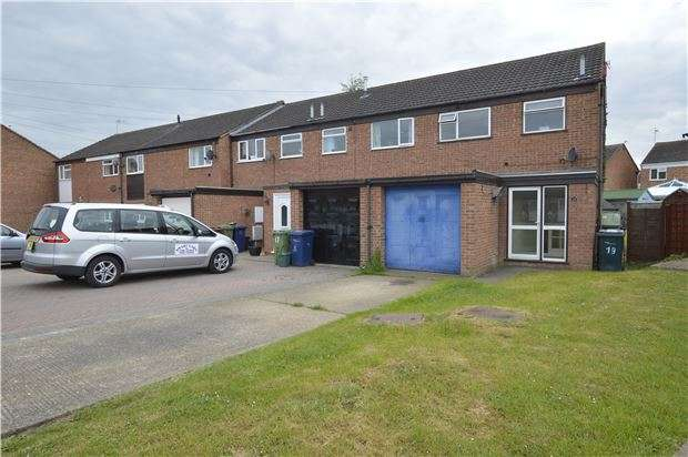 3 Bedrooms End Of Terrace House for sale in Cromers Close, Northway, TEWKESBURY, Gloucestershire, GL20 8RT