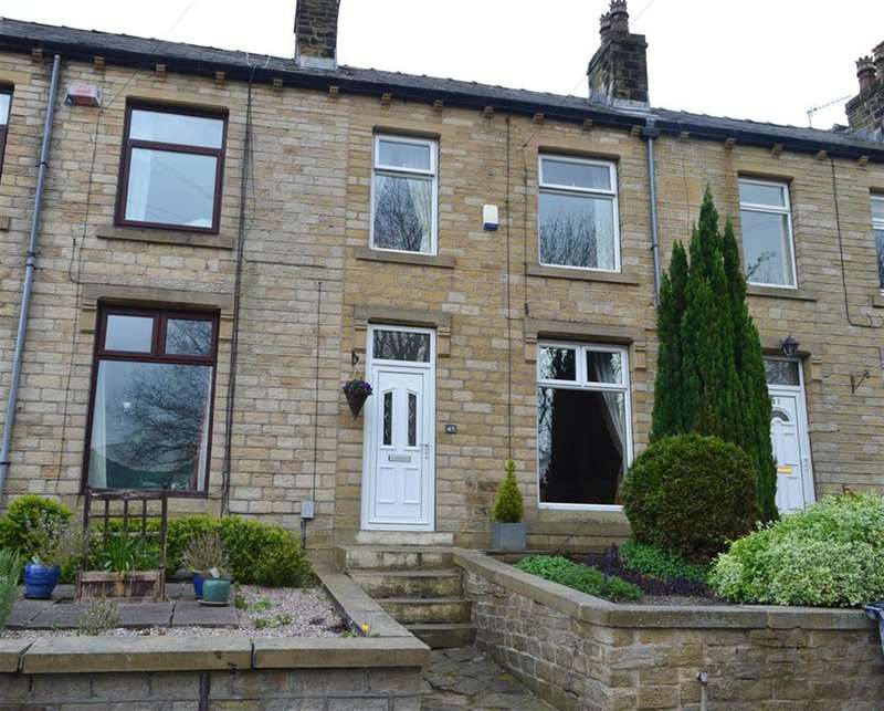 3 Bedrooms Terraced House for sale in Royds Avenue, Linthwaite, Huddersfield, HD7 5QU