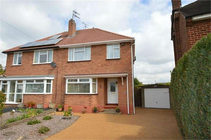 3 Bedrooms Semi Detached House for sale in Brook Crescent, Wall Heath, Kingswinford, West Midlands