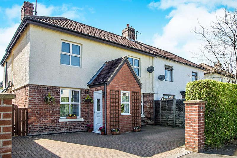 4 Bedrooms Semi Detached House for sale in Lindisfarne Road, Alnwick, NE66
