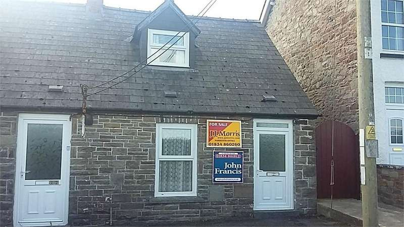 1 Bedroom End Of Terrace House for sale in Velfrey Road, WHITLAND, Carmarthenshire
