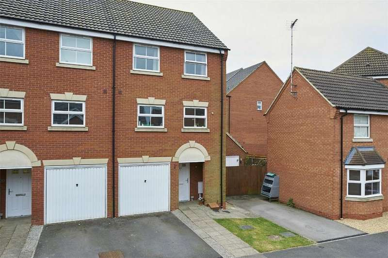 3 Bedrooms End Of Terrace House for sale in Tungstone Way, Market Harborough, Leicestershire