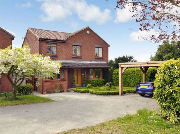4 Bedrooms Detached House for sale in Harvest Road, Tytherington, Macclesfield, Cheshire
