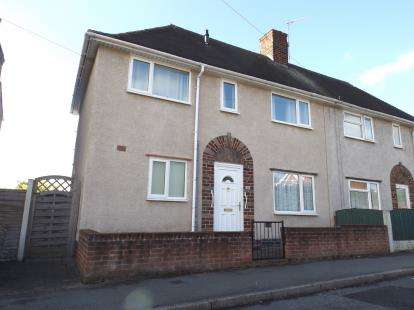 3 Bedrooms Semi Detached House for sale in Chesterfield Avenue, New Whittington, Chesterfield, Derbyshire