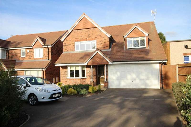 4 Bedrooms Detached House for sale in Weddington Road, Weddington, Nuneaton, Warwickshire
