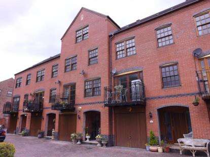 4 Bedrooms Terraced House for sale in Lock View, Evesham, Worcestershire