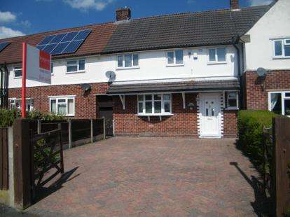 4 Bedrooms Terraced House for sale in Alamein Drive, Winsford, Cheshire