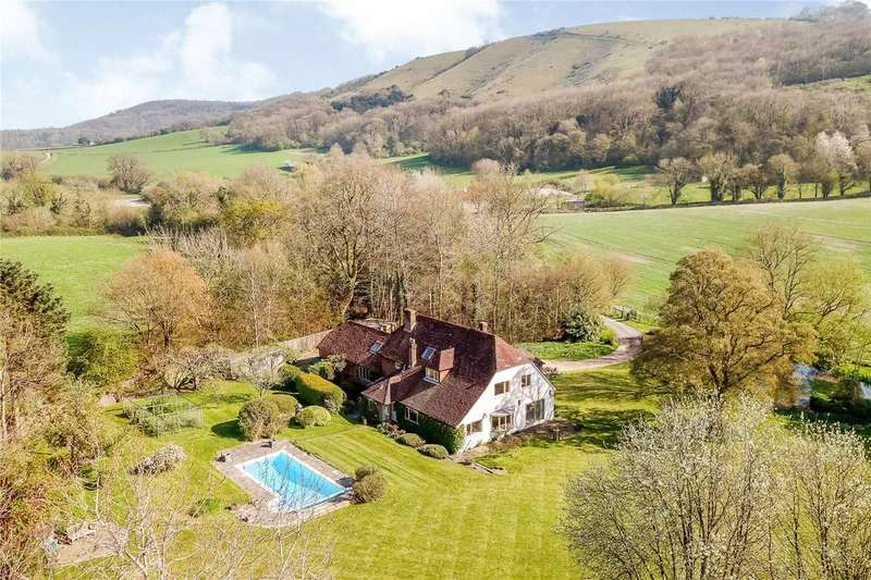 5 Bedrooms Detached House for sale in Treyford, Midhurst, West Sussex