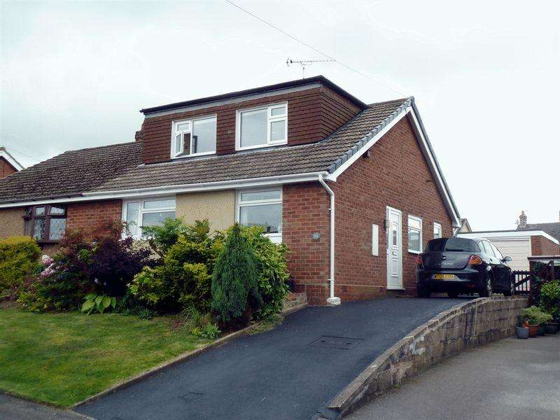 3 Bedrooms Semi Detached House for sale in Churnet Close, Cheddleton