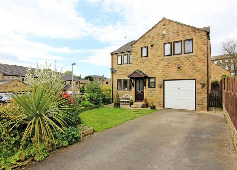 4 Bedrooms Detached House for sale in 18 The Mallards, Silsden,