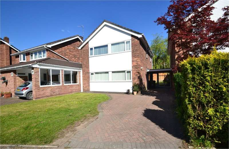 3 Bedrooms Detached House for sale in Lingfield Avenue, Hazel Grove, Stockport SK7 4SL