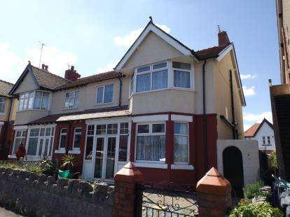 4 Bedrooms Semi Detached House for sale in Wynnstay Road, Old Colwyn, Colwyn Bay, Conwy, LL29