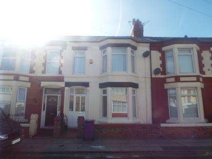 3 Bedrooms Terraced House for sale in Undercliffe Road, Liverpool, Merseyside, L13