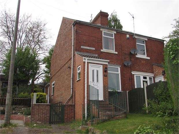 2 Bedrooms Semi Detached House for sale in Spring Grove, Conisbrough, Doncaster, DN12 2BW