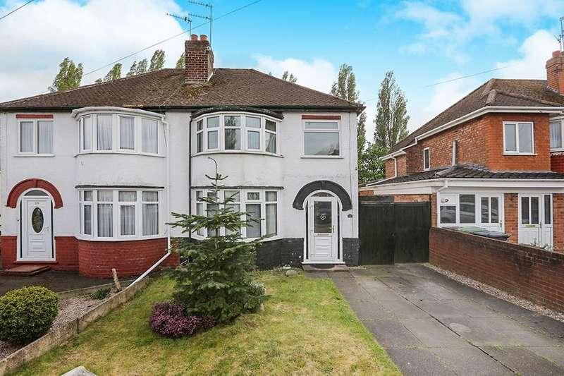3 Bedrooms Semi Detached House for sale in Sandon Road, Wolverhampton, WV10