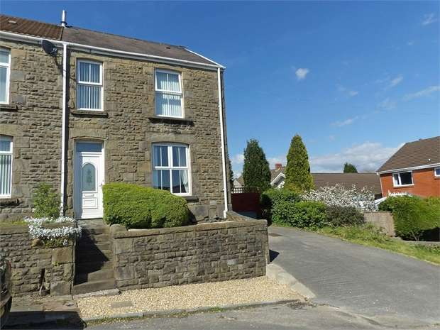 3 Bedrooms Semi Detached House for sale in Waun Gron Road, Treboeth, Swansea, West Glamorgan