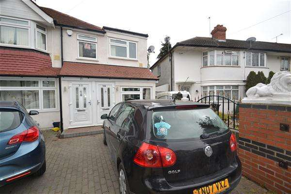 2 Bedrooms End Of Terrace House for sale in Richmond Avenue, Bedfont