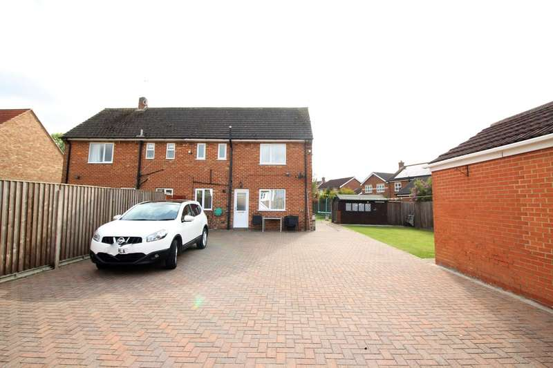 3 Bedrooms Semi Detached House for sale in Carnaby Close, Leconfield