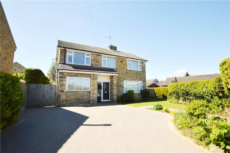 4 Bedrooms Detached House for sale in Knights Croft, Wetherby, West Yorkshire