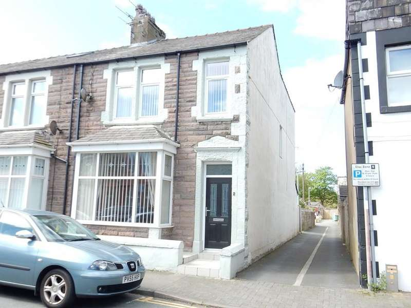 3 Bedrooms End Of Terrace House for sale in Infirmary Road, Workington