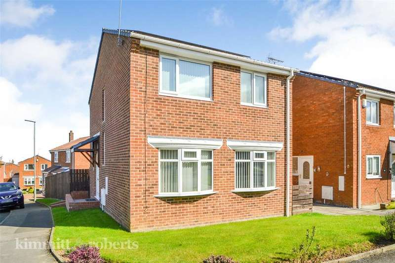 3 Bedrooms Detached House for sale in Dilston Close, Oakerside, Peterlee, Co.Durham, SR8