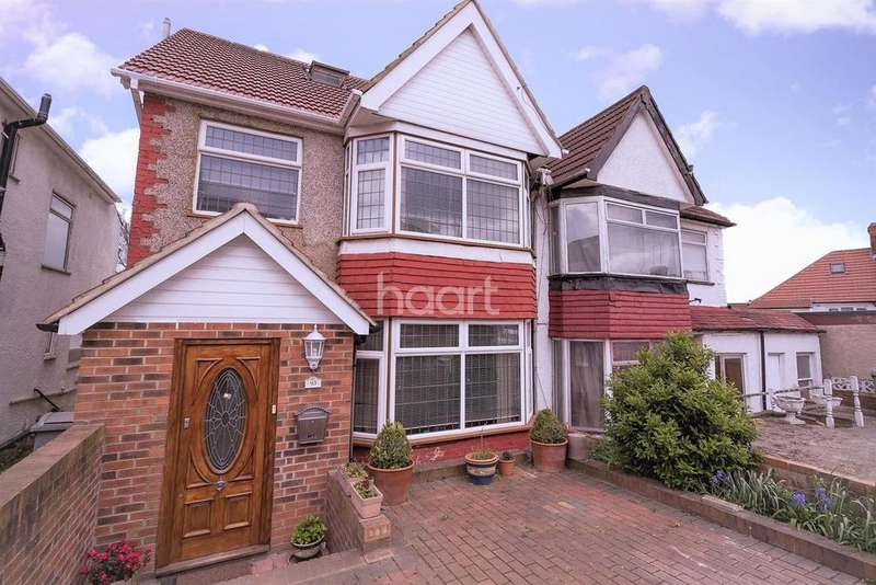 4 Bedrooms Semi Detached House for sale in Grove Crescent, NW9