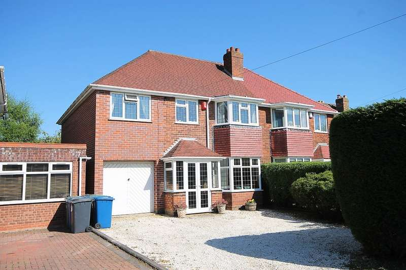 4 Bedrooms Semi Detached House for sale in Comberford Road, Tamworth, B79 8PG