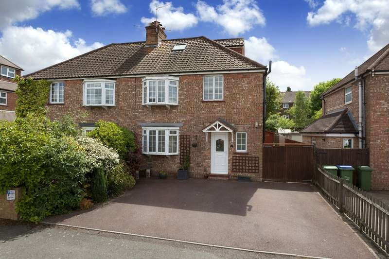 4 Bedrooms Semi Detached House for sale in Hurst Avenue, Horsham