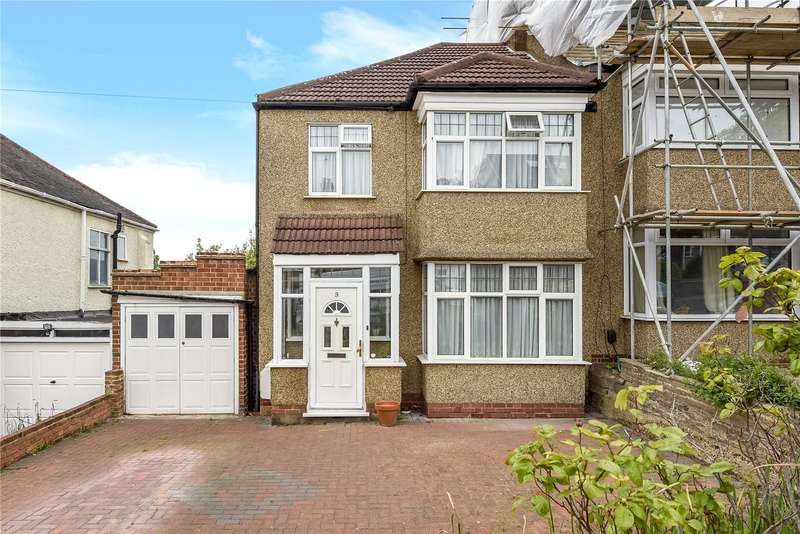 3 Bedrooms Semi Detached House for sale in Woodcroft Avenue, Stanmore, Middlesex, HA7