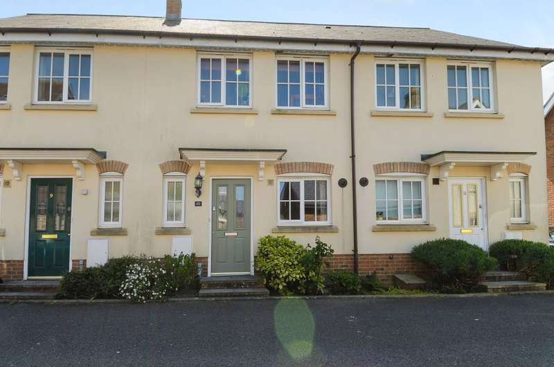2 Bedrooms Terraced House for sale in Ridgeway Road, Gillingham, Dorset SP8